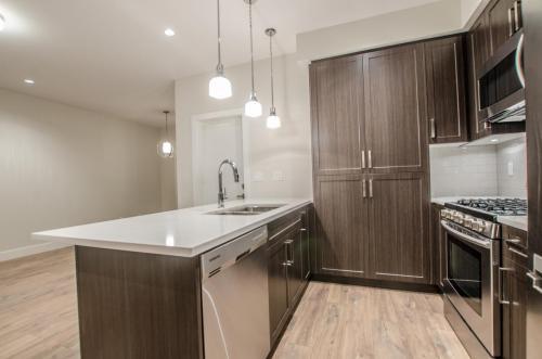 St. Georges Custom Home Basement Suite Kitchen
