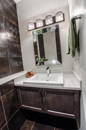 St. Georges Custom Home Bathroom